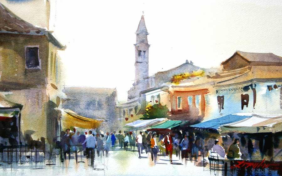 Early Market, Burano, Italy